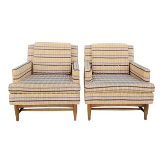 Vintage 1970s American of Martinsville Club Chairs- a Pair For Sale