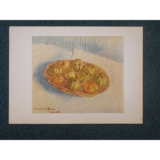 Yellow Vintage Ltd. Ed. Post-Impressionist Lithograph-Vincent Van Gogh (Fr. 1853-'90) For Sale - Image 8 of 8