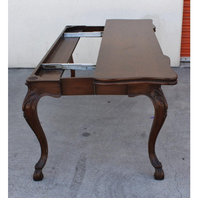 Karges Convertible Console Table For Sale - Image 5 of 6