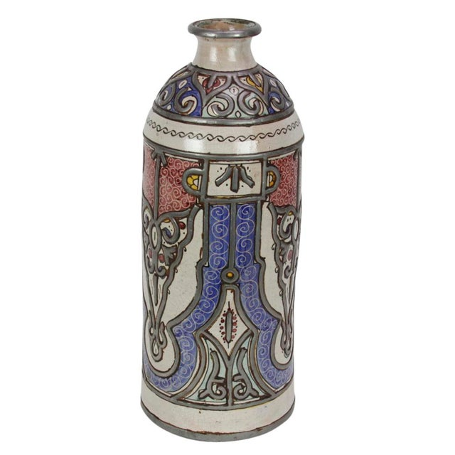 Islamic Khalida Tall Moroccan Jar For Sale - Image 3 of 4