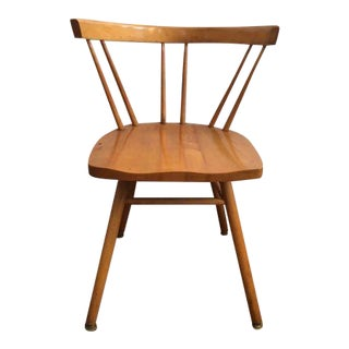 Mid Century Modern Maple Paul McCobb or Nakashima for Knoll Side Chair For Sale