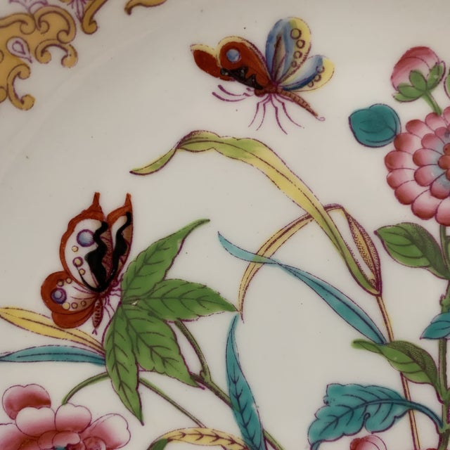 Antique English Minton Chinoiserie Shallow Dinner Bowls- Set of 8 For Sale In New York - Image 6 of 11
