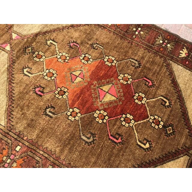 Vintage Hand Knotted Anatolian Rug For Sale - Image 5 of 7