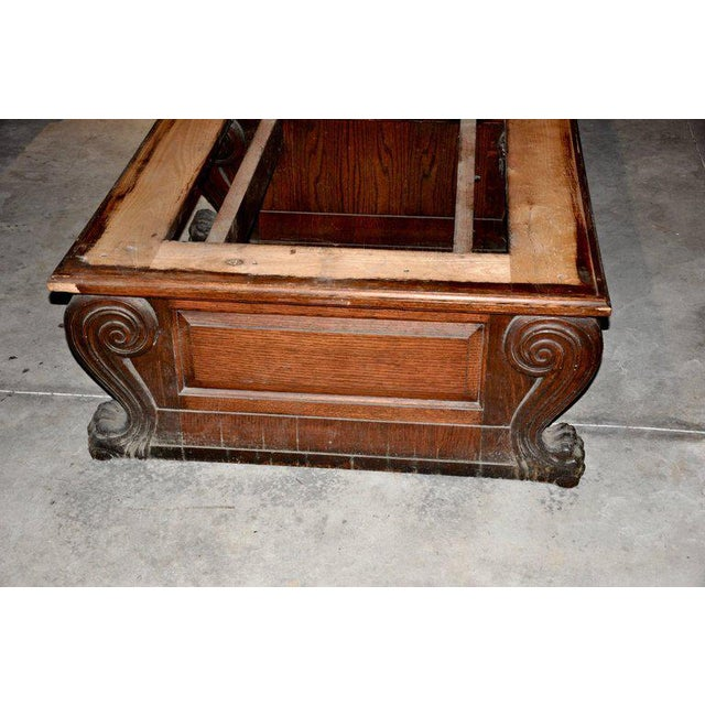 Late 19th Century Renaissance Revival Double Bench For Sale - Image 4 of 5
