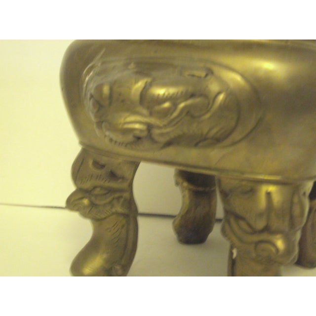 Large Oriental Incense Burner - Image 8 of 11
