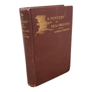 """A Mystery of New Orleans"" Book by William H. Holcombe (1891) For Sale"