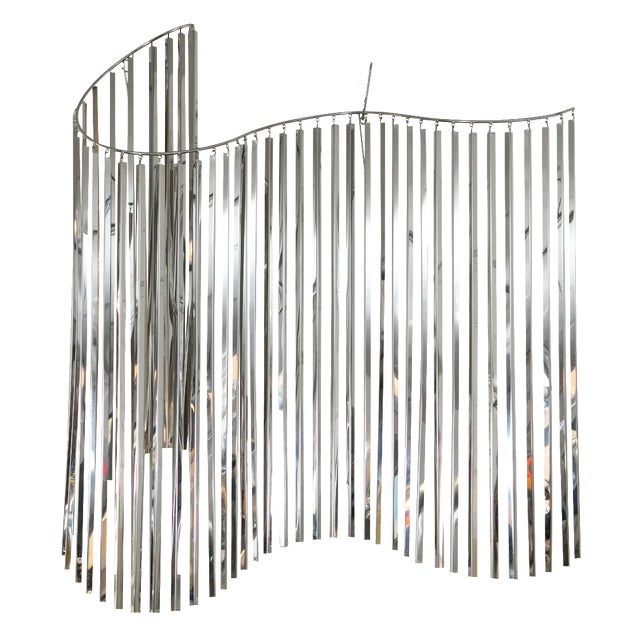 Curtis Jere Silver Kinetic Wall Hanging - Image 1 of 9