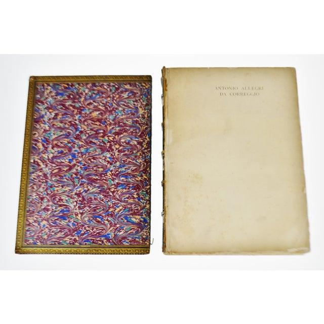 """Paper 1896 Antique """"Da Correggio Antonio Allegri Da Correggio His Life, His Friends, And His Time"""" Book For Sale - Image 7 of 10"""