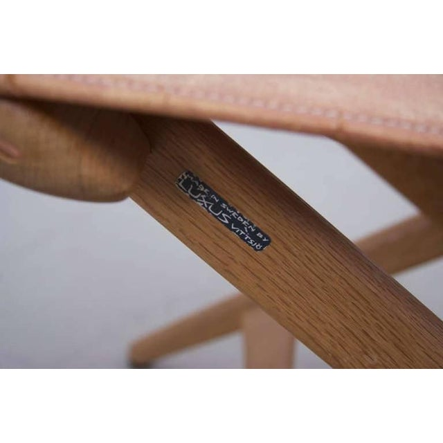 1960s Folding Stool by Des. Uno and Östen Kristiansson for Luxus Vittsjö For Sale - Image 5 of 6