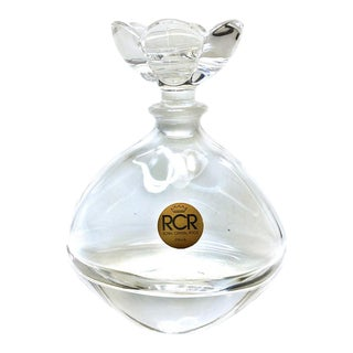 RCR Clear Perfume Bottle For Sale
