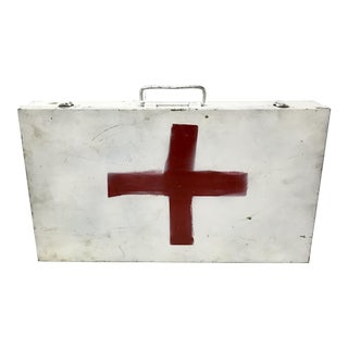 Vintage Industrial First Aid Box