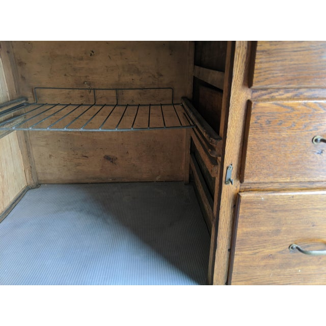 Early 20th Century Antique Hoosier Cabinet For Sale - Image 5 of 5