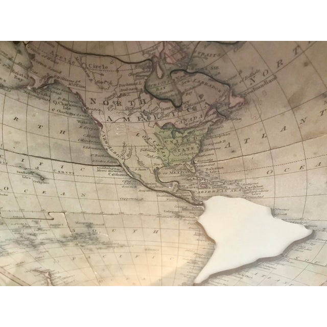 John Wallis's New Dissected 1812 Puzzle World Map For Sale - Image 9 of 10