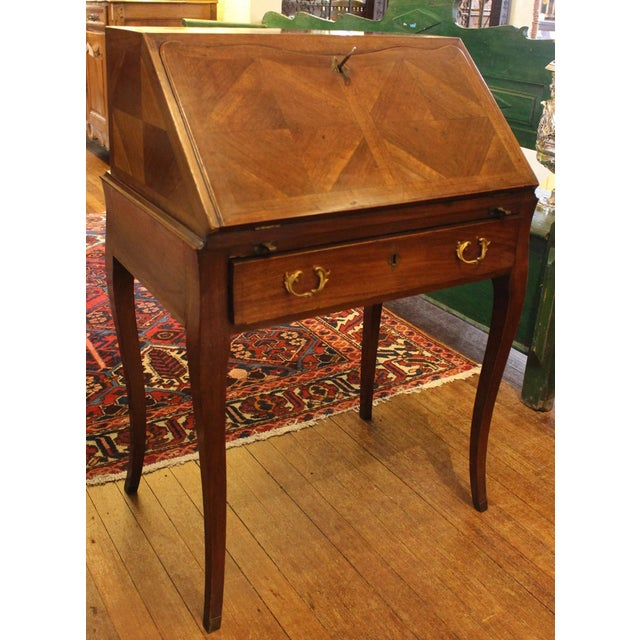 Mid 19th Century Country French Bonheur Du Jour Desk For Sale - Image 5 of 6