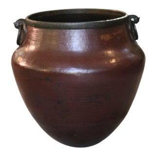 Brass Bird Handle Water Pot For Sale