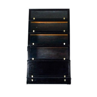 1980s Contemporary Barrister Bookcase For Sale