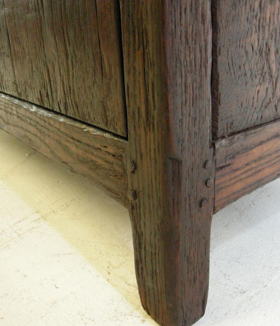 rustic spanish furniture. Custom Rustic Spanish Style Oak Wood Cabinet - Image 5 Of 8 Furniture