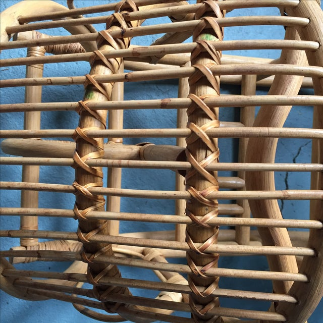 Vintage Child's Rattan Rocking Toy - Image 10 of 11