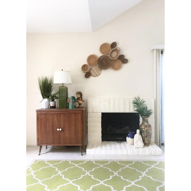 Boho Chic Wall Hanging Baskets - Set of 11 - Image 3 of 3