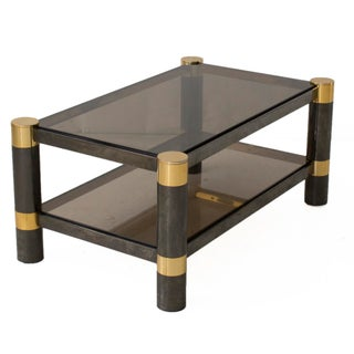 Mid-Century Modern Karl Springer Small Coffee Table Preview