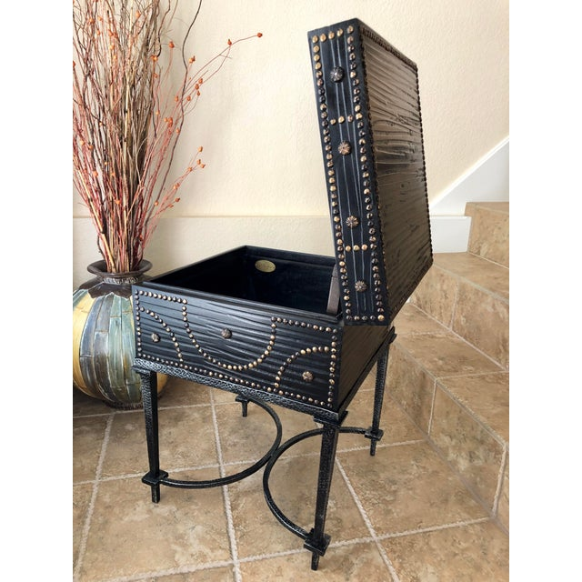 2010s Document Box Accent Table From the Colonial Williamsburg Collection by Global Views For Sale - Image 5 of 13
