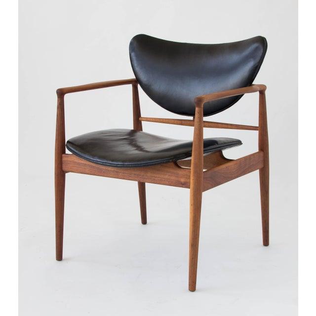 Finn Juhl for Baker Furniture Model 48 Chair For Sale