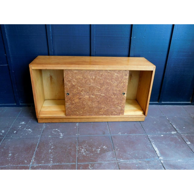 1960s Mid Century Wooden Cabinet For Sale - Image 5 of 9