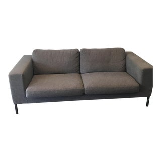 Design Within Reach Neo Charcoal Two Seater Couch