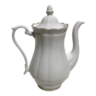 Wapbryzych 24k White Coffee Pot For Sale