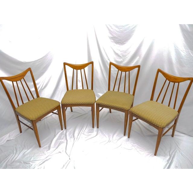 Mid Century Danish Walnut Dining Chairs By Keller Furniture