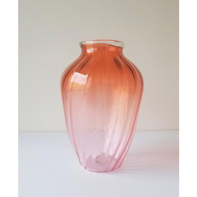 1987 Robbie Miller Blown Glass Vase for Traver Gallery Research For Sale - Image 11 of 13