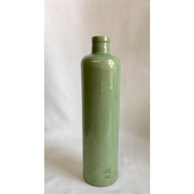 1920s Vintage Neutral Stoneware Bottles - Set of 4 For Sale - Image 5 of 11