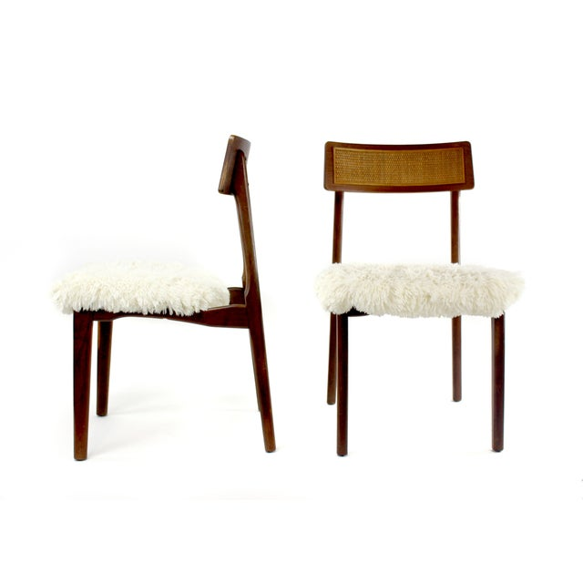 Set of Scandinavian style dining chairs created by California Trends, a Los Angeles company that started in the 1920's....