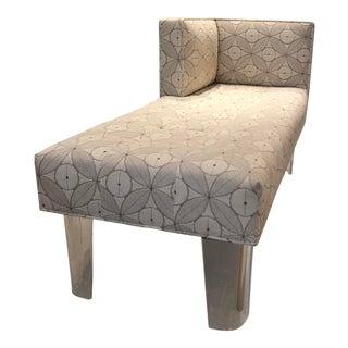 Art Deco Chaise Lounge Chair