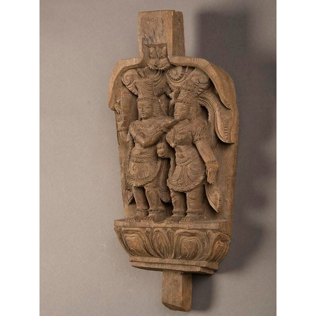 Late 19th Century 19th Century Chinese Kuang Hsu Period Hand Carved Decoration For Sale - Image 5 of 6