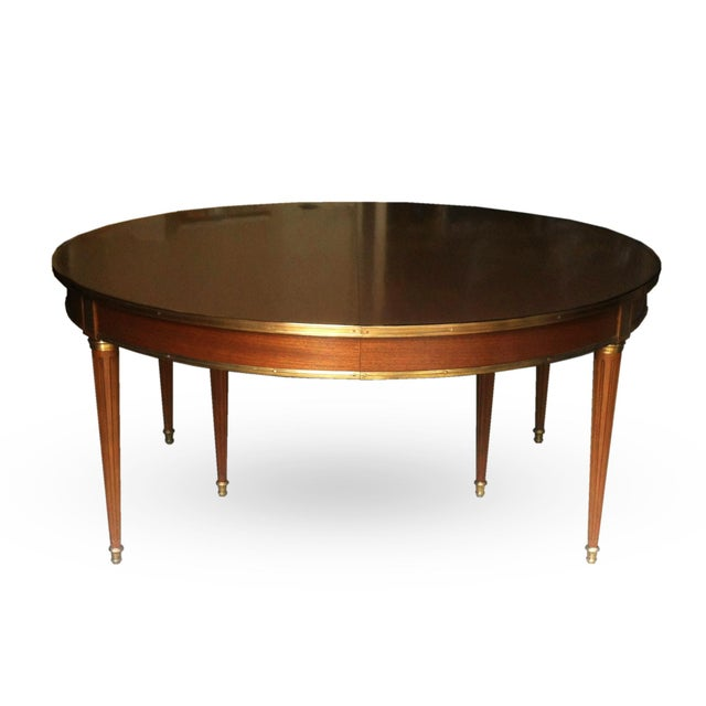 Gold Louis XVI Style Dining Table For Sale - Image 8 of 8