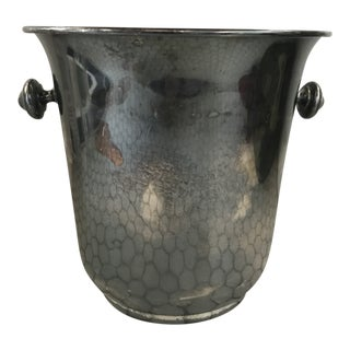 French Silver-Plate Champagne Bucket For Sale