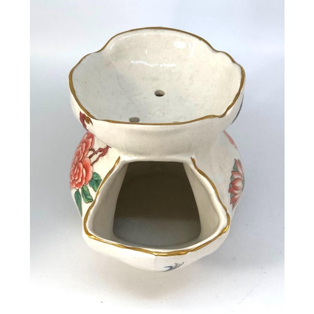 Vintage Chinese Rose Old Foley James Kent Staffordshire For Sale - Image 9 of 12