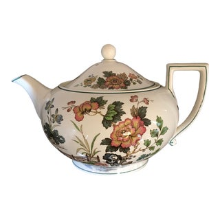 1940s Wedgewood Autumn Harvest Teapot For Sale