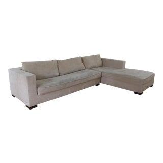 Ligne Roset Rive Gauche Sofa & Chaise For Sale