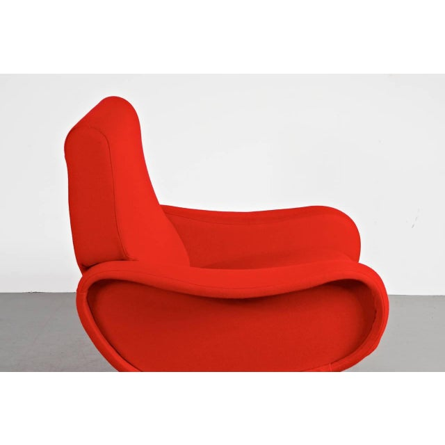 "First Edition ""Lady"" Easy Chair by Marco Zanuso for Arflex, Italy, circa 1950 - Image 6 of 9"