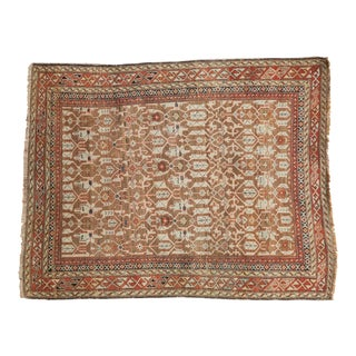 "Antique Caucasian Rug - 3'5"" X 4'6"" For Sale"