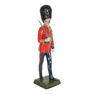 1950s Vintage Sitzendorf Officer of the British Army Porcelain Figurine For Sale