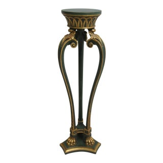 Decorative Crafts Italian Regency Paw Foot Pedestal Plant Stand For Sale
