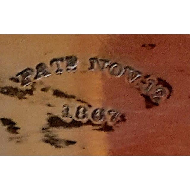 1867 Silver Plated Serving Tray With Engraving - Image 6 of 8