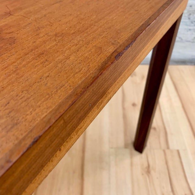 Wood 1960s Danish Modern Hans Olsen Teak Side Tables - a Pair For Sale - Image 7 of 11