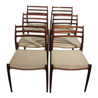 Niels O Moller Model #78 Dining Chairs - Set of 6