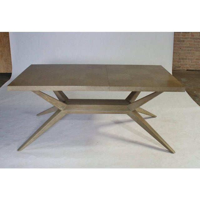 Mid-Century Modern Harold Schwartz for Romweber M-748 Dining Table For Sale - Image 3 of 9