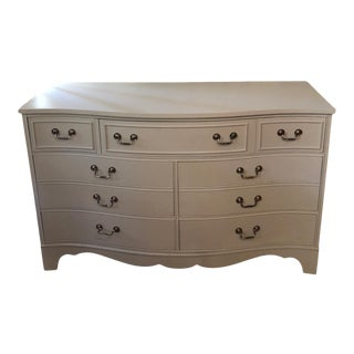 1960's Vintage Gray Chest of Drawers For Sale