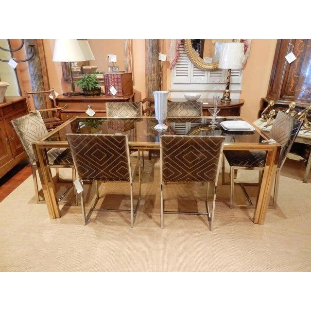 Romeo Rega Italian Mid-Century Modern Romeo Rega Dining Table For Sale - Image 4 of 7